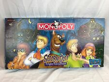 Scooby Doo Monopoly Fright Fest Edition USAopoly 99% COMPLETE Board Game