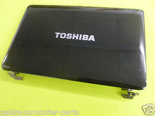 Toshiba satellite L655D-S5093 lcd back cover with hinges+ web- cam