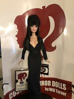 Elvira, Mistress of the Dark CUSTOM HORROR DOLL OOAK 12 Inch Figure CLEARANCE