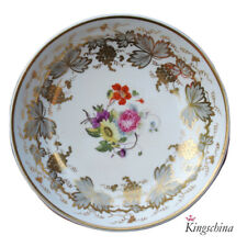 More details for rare rockingham red griffin mark cabinet plate saucer by steele ? plate vase cup