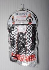 NEW Adult Playboy Bunny Sexy Team Race Car Finish Stripes Playmate Dress Costume