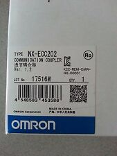 Omron NJ series CPU NX-ECC202 Brand New