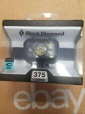 NEW!!! BLACK DIAMOND STORM 375 Lumens Headlamp GRAPHITE  Free Shipping!!!!