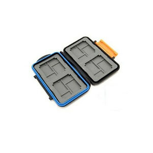 JJC Speicherkartenbox MC-4 für 4 CF, 8 Micro SD Cards, 8 XD wasserdicht