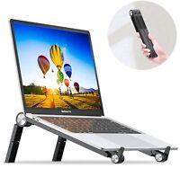 Portable Laptop Stand Foldable, Ergonomic Laptop Stand for Desk Adjust (10-16'')