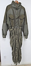 EMMEGI VINTAGE ONE PIECE OLIVE GREEN SKI SUIT/COSTUME  - MENS SIZE 52 - EUC