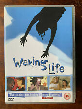 Waking Life Dvd 2001 Richard Linklater Animated Cult Movie Classic