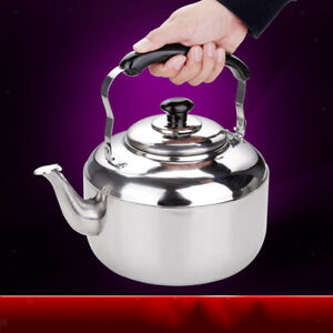 Kettle With Grooved Handle Whistling Kettle Kettle Tea Home Camping Hob