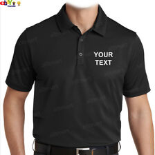 NW MEN PRINTED CUSTOM PERSONALIZED DRY FIT COLLAR POLO T-SHIRT COMPANY TEAM NAME