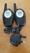 Cobra Microtalk MT800 Walkie Talkie Radios PMR446 2 vías