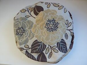 Beautiful Foral Footstool Cover