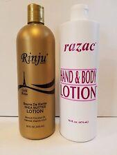 Rinju Gold and Razac Lotions - $20.99