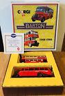 CORGI D41/1 BARTON BUS SET 1908-1989 Bedford OB Coach & AEC Regent