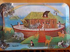 Noah's Ark Melamine Tray, Mebel, Italy, V 18, Fernando D., Very Good Condition