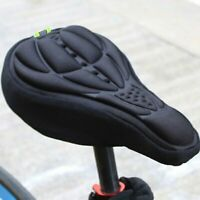 US Bicycle Saddle 3D Soft Bike Seat Cover Comfortable Foam Seat Cushion Cycling