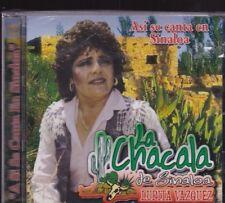 La Chacala de Sinaloa Lupita Vaquez Asi se Canta en Sinaloa CD New Nuevo
