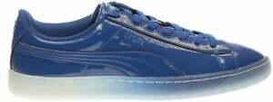 Puma Basket Patent Ice Fade Lace Up  Mens  Sneakers Shoes Casual