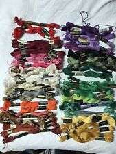 New Listing66 Skeins Vintage Cotton Embroidery Thread Floss Variety Of Colors