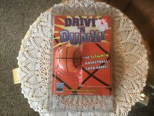 NY Game Factory Drive 'N Dunk! Card Game.  Missing Pen.