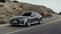 2020 Audi RS6 Avant Auto Car Art Silk Wall Poster Print 24x36""