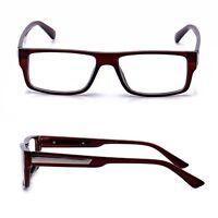 Readers Brown Rectangular Frame 2 Pack Reading Glasses Square Frame