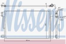 Kondensator, Klimaanlage für Klimaanlage NISSENS 94973