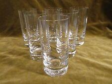 6 verres à orangeade cristal de saint Louis (Crystal long drink glasses)
