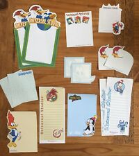 Woody Woodpecker Chilly Willy Stationery / Stationary LOT MEMO Paper 15 Sheets