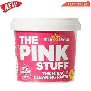 The Pink Stuff Cleaning Paste Stardrops Saucepan Barbecue Oven Cleaner 500 grams