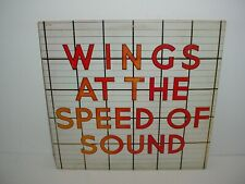 Paul McCartney Means At The Speed Of Sound Lp Album Vinyl 33 rpm