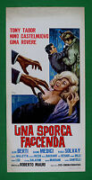 L47 Plakat Ein Verschmutzt Tricky Tony Tabor Gina Eiche Nino Castelnuovo Berti