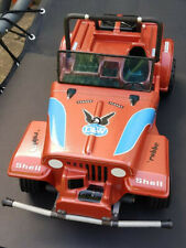 80's Robbe R/C Jeep 1:8 with vintage electric conversion. Very rare.