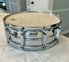 'Players' 70s Vintage LUDWIG 5x14 Chrome Supraphonic Snare Drum