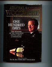 One Hundred Days: The Memoirs Of The Falklands Battle Group Commander, hbDJ, vg