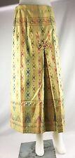 Bow Skirt Tops Silk Sarong Wrap Around Stitching Tie Waist Chintz Thai Tradition