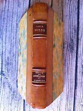 WILDE : Essais de Littérture et d'Esthétique. 1877-1885. Reliure. 1912.
