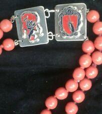 COLLANA   STEMMI  IN SMALTO-   ENAMEL  coats  of arms  necklace
