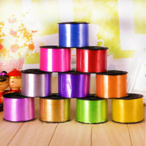 100yd Balloon Curling Ribbon Decor Wedding Birthday Party DIY Gift Wrapping Rope