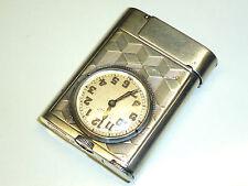 ETERNA WATCH LIGHTER - 935 SILVER - MADE BY ETERNA & CIE. - 1930 - SWITZERLAND