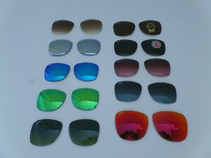New Ray-Ban RB2140 / RB4105 Wayfarer replacement lenses 100% Authentic