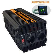 Power Inverter 3000w DC 24V AC 240V Converter Peak 6000 WATT Remote Controller