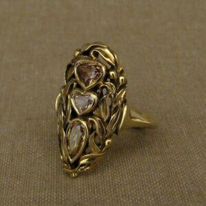 Fashion 925 Silver Heart Shape White Sapphire Ring Women Wedding Jewelry Rings