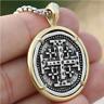 Pendant Necklace Crusaders Cross Templar Mens Hebrew Jewelry