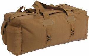 Heavy Duty Cotton Tactical Duffle Bag Israeli Mossad IDF Carry / Backpack