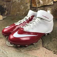 Nike Lunarlon Superbad Pro TD Football Cleats Size 18 Red White  Lacrosse 5