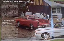 1968 Ford Ranchero Canada/French Brochure 500 GT Original