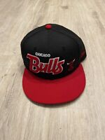 New Era Chicago Bulls Hat Hardwood Classics Snapback NBA Basketball Black Cap