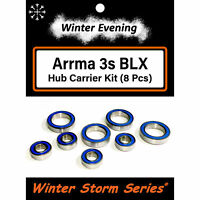 Arrma 3s BLX Hubs - Big Rock Granite Outcast Senton Typhon (8 Pcs Bearing Kit)