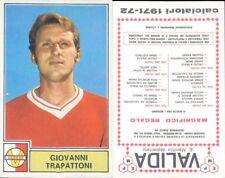 CALCIATORI PANINI A-1971/72*FIGURINA STICKER *VARESE-GIOVANNI TRAPATTONI*NEW