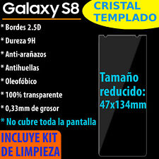 CRISTAL TEMPLADO PROTECTOR DE PANTALLA PARA SAMSUNG GALAXY S8 VIDRIO 9H
